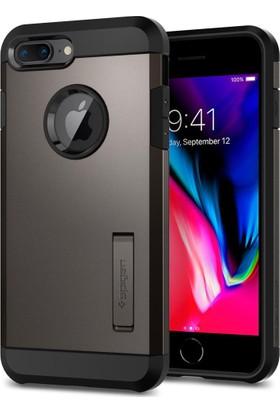 Spigen Apple iPhone 8 Plus - iPhone 7 Plus Kılıf Tough Armor 2 Gunmetal - 055CS22244
