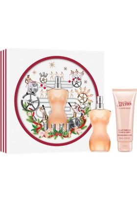 Jean Paul Gaultier Classique 100 Ml Edt Kadın Parfüm Seti