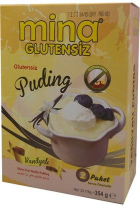 Mina Glutensiz Vanilyalı Puding 354 gr