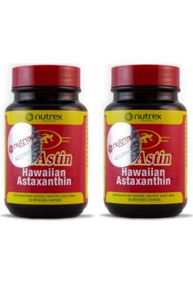 Nutrex Bioastin Hawaiian Astaxanthin 60 Kapsül (Cam Kavanoz - 2'li Set)