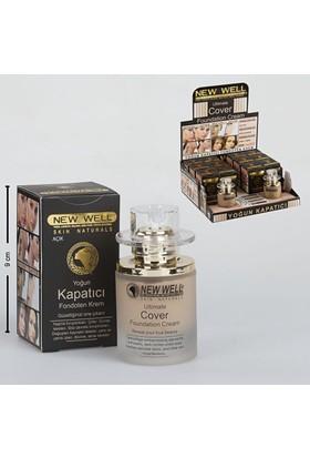 Newwell Makeup Yoğun Kapatıcı Fondöten