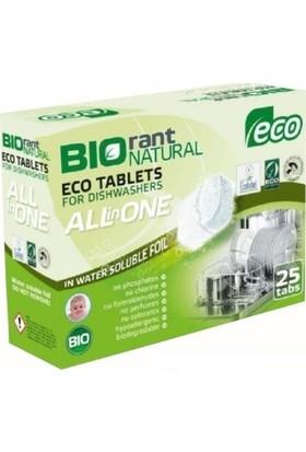 Biorant Organik Bulaşık Makinası Tableti (All İn One) 3Ü 1 Arada