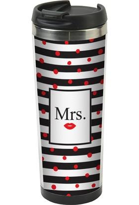 Allmug İçi Çelik Termos -Mrs.