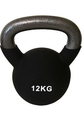 Usr KBN12 12 kg Neopren Kettlebell-Çaydanlık Dambıl