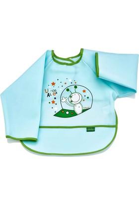 BabyJem Poli Muşamba Kollu Önlük / Yeşil