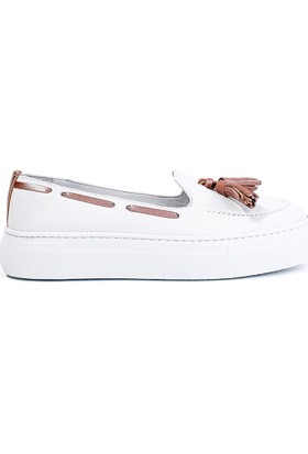 Pegia Pernety Günlük Ayakkabı REC-010 Beyaz