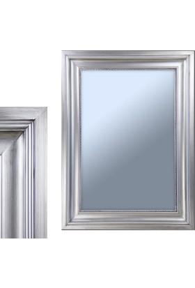 Ancel An309Qd3190 Gümüş Kaplamalı Antik Ahşap Çerçeveli Ayna