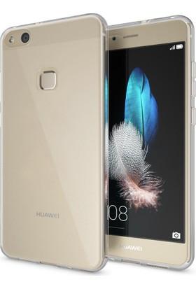 Microsonic Huawei P10 Lite Transparent Soft Kılıf Beyaz
