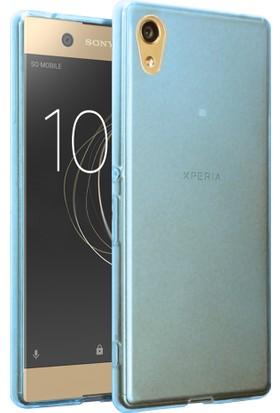 Microsonic Sony Xperia L1 Transparent Soft Kılıf Mavi