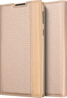 Microsonic Sony Xperia XA1 Ultra Gizli Mıknatıslı Delux Kılıf Gold