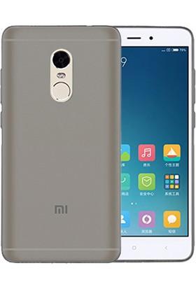Microsonic Xiaomi Redmi Note 4X Transparent Soft Kılıf Siyah