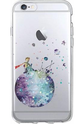 Microsonic iPhone 6S Desenli Kılıf Küçük Prens Mavi