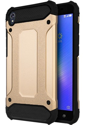 Microsonic Asus Zenfone Live Rugged Armor Kılıf Gold