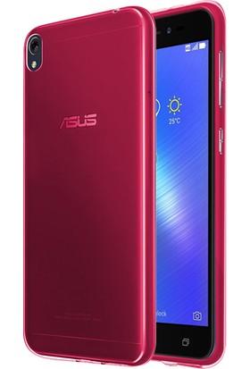 Microsonic Asus Zenfone Live Transparent Soft Kılıf Pembe