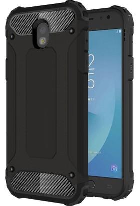 Microsonic Samsung Galaxy J5 Pro Rugged Armor Kılıf Siyah