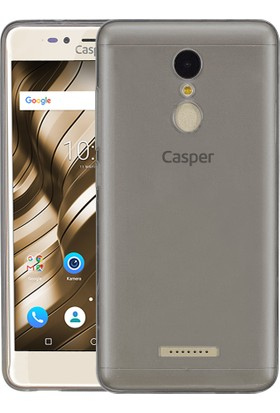 Microsonic Casper Via M3 Transparent Soft Kılıf Siyah