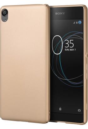 Microsonic Sony Xperia L1 Premium Slim Kılıf Gold
