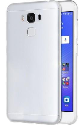 Microsonic Asus Zenfone 3 Max (5.5'') ZC553KL Transparent Soft Kılıf Beyaz