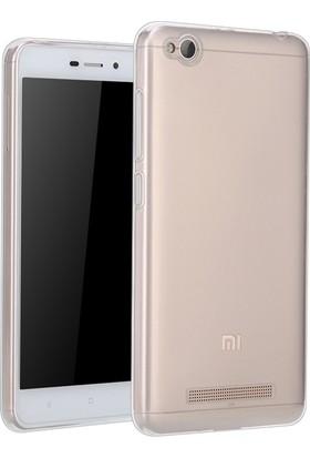 Microsonic Xiaomi Redmi 4A Transparent Soft Kılıf Beyaz