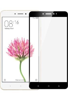 Microsonic Xiaomi Mi Max Tam Kaplayan Temperli Cam Ekran Koruyucu Siyah