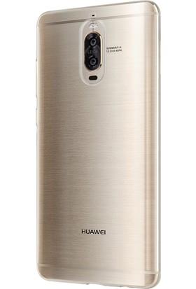 Microsonic Huawei Mate 9 Pro Transparent Soft Kılıf Beyaz