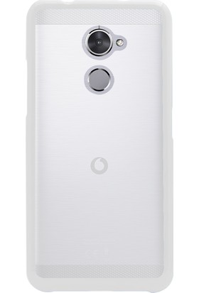 Microsonic Glossy Soft Vodafone Smart V8 Kılıf Beyaz