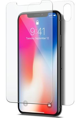 Microsonic Apple iPhone X Ön + Arka Nano Cam Ekran Koruyucu