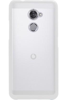 Microsonic Glossy Soft Vodafone Smart N8 Kılıf Beyaz