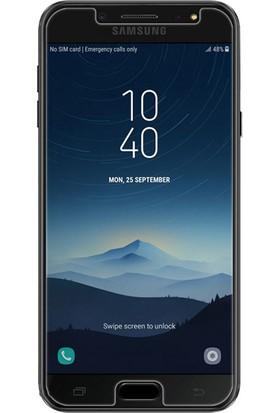 Microsonic Samsung Galaxy C8 Temperli Cam Ekran Koruyucu