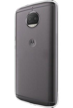 Microsonic Motorola Moto G5S Plus Transparent Soft Kılıf Beyaz