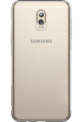 Microsonic Samsung Galaxy C8 Transparent Soft Kılıf Şeffaf