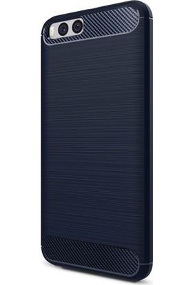 Microsonic Xiaomi Mi Note 3 Room Silikon Kılıf Lacivert