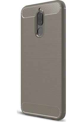 Microsonic Huawei Mate 10 Lite Room Silikon Kılıf Gri