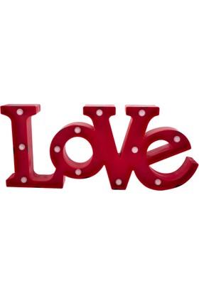 Love Led Işıklı Pano