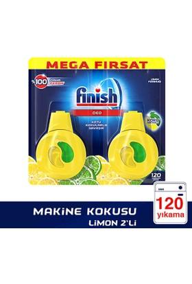 Finish Bulaşık Makinesi Deterjanı Makine Kokusu Limonlu 2'li Paket