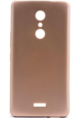 Kny Alcatel A3 Xl Kılıf Ultra İnce Mat Silikon+Cam Ekran Koruyucu