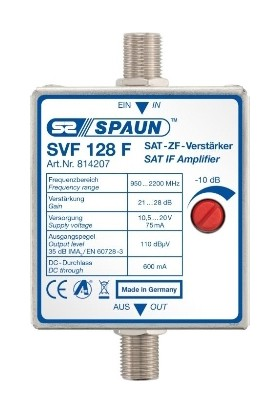 Spaun SVF 128 F Sinyal Yükseltici