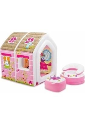 İntex Kiddie Koltuklu Prenses Şişme Oyun Evi
