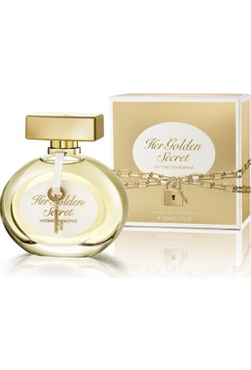 Antonio Banderas Her Golden Secret 80Ml Edt
