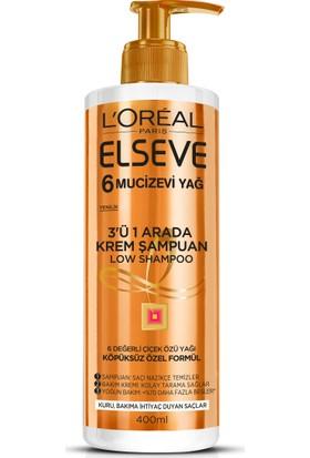 L'oreal Elseve Köpüksüz Şampuan 6 Mucizevi Yağ