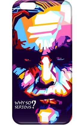 Svart Case Apple iPhone 6/6S Plus Silikon Baskılı Arka Kapak
