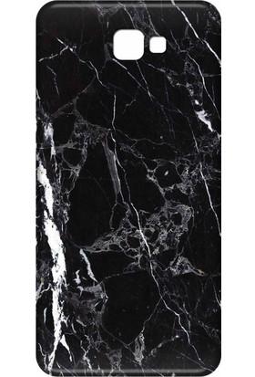 Svart Case Samsung Galaxy J7 Prime Silikon Baskılı Arka Kapak