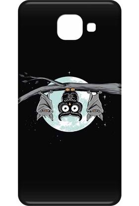 Svart Case Samsung Galaxy J7 Max Silikon Baskılı Arka Kapak