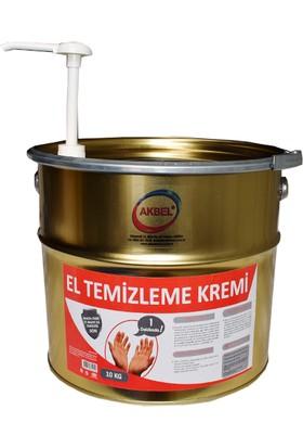 Akbel Kimya Endüstriyel El Temizleme Kremi 10 Kg. (Pompa Aparatlı)