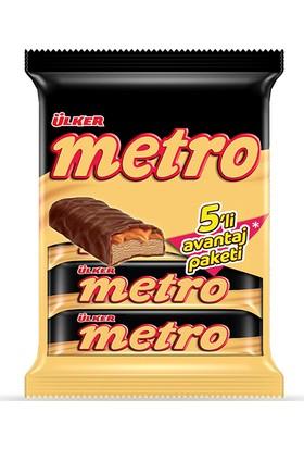 Ülker Metro Çikolata - 5'li