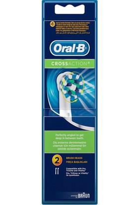 Oral-B EB50 Diş Fırçası Yedeği Cross Action 2'li