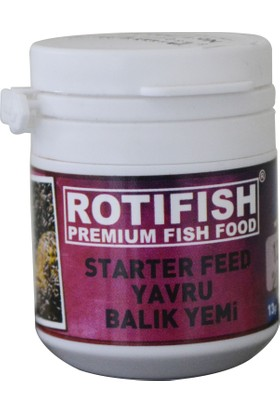 Rotifish Starter Feed No:2 Yavru Balık Yemi 13Gr.