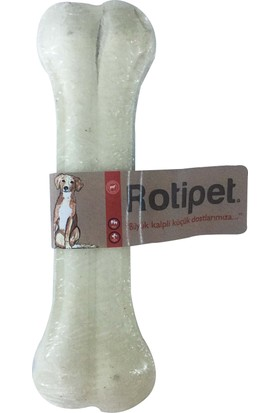 Rotipet 15,5 Cm. Pres Kemik Beyaz
