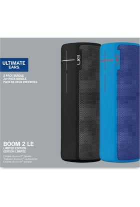 Ultimate Ears Boom 2 2'li Bundle - Siyah/Mavi