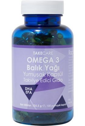 Takecare Omega 3 Balik Yaği 100 Yumuşak Kapsül